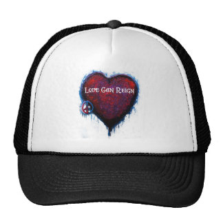 Love Can Reign Heart Products Trucker Hat