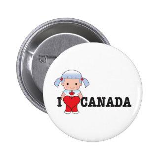 Love Canada Button