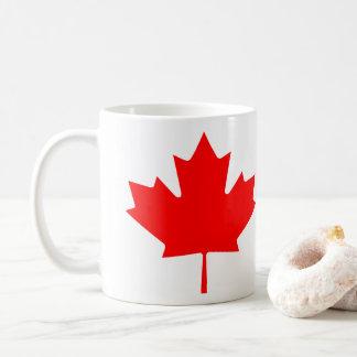 love Canada Day flag coffee tea cup mug