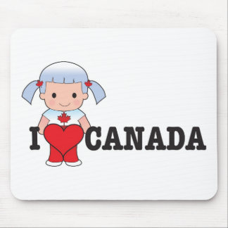 Love Canada Mouse Mats