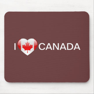 Love Canada Mousepads