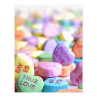 Love candies letterhead