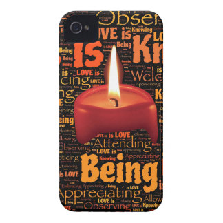 love candle iPhone 4 Case-Mate case