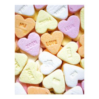 Love candy letterhead