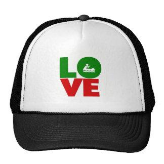 Love canoeing trucker hat