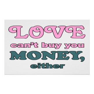 LOVE CAN'T BUY MONEY STATIONERY