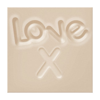 Love Canvas Stretched Canvas Prints