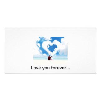 Love card photo card