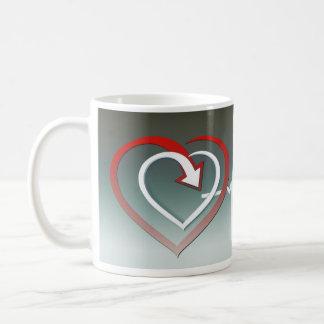 Love cardiac cycle coffee mug