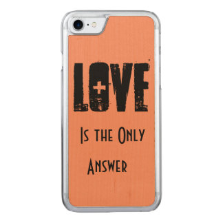 Love Carved iPhone 8/7 Case