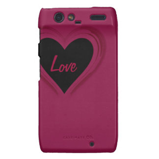 Love Case-Mate case for RAZR Motorola Droid RAZR Cover