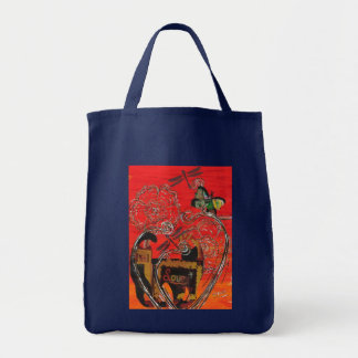 Love Cat and Butterfly Bag