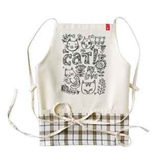 love cat apron