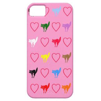 Love Cat Design iPhone SE/5/5s Case