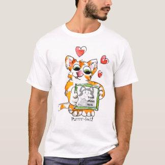 Love Cat Heart Custom T-Shirt