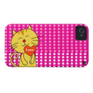 Love Cat Lollipop iPhone 4 Case-Mate Case