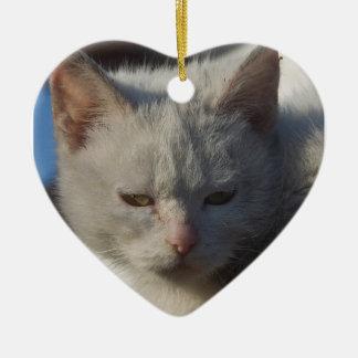 Love Cat Ornament