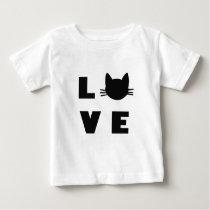 Love Cats. Baby T-Shirt