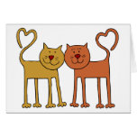 Love Cats Card