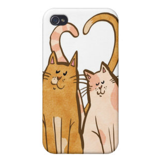 Love Cats Covers For iPhone 4