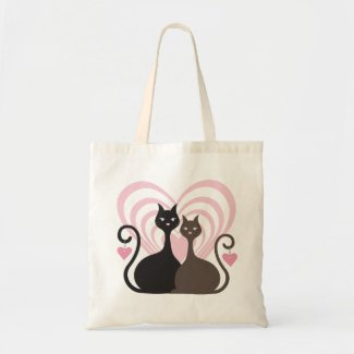 Love Cats CustomTote Bag Small bag
