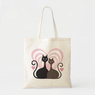 Love Cats CustomTote Bag Small bag