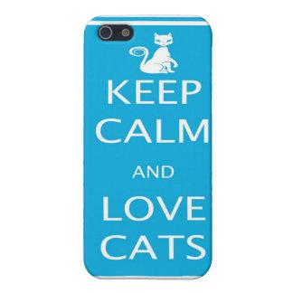 Love Cats Iphone 5 Case Matte