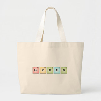 Love Cats Large Tote Bag