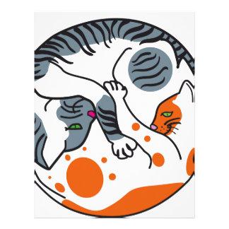 Love cats letterhead