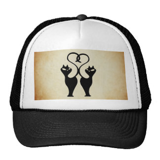 Love cats trucker hat