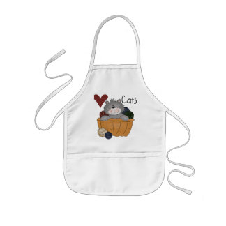 Love Cats Tshirts and Gifts Kids' Apron
