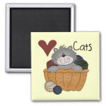 Love Cats Tshirts and Gifts Refrigerator Magnet
