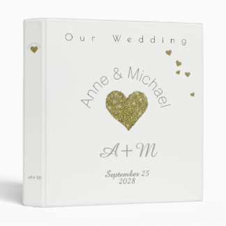 love celebration . our wedding white 3 ring binder
