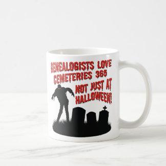 Love Cemeteries 365 Classic White Coffee Mug
