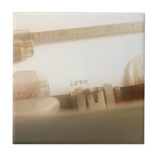 Love Ceramic Tile
