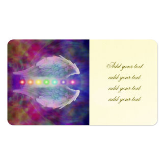 Love,chakra,angel,god,healer,healing,yoga,heal, Double-Sided Standard Business Cards (Pack Of 100)