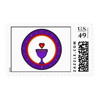 Love Chalice Postage Stamp