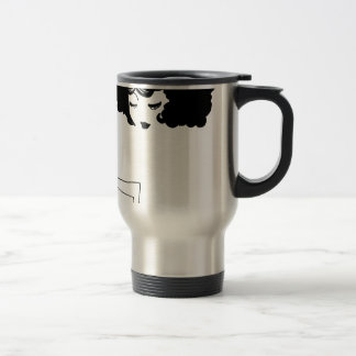 Love character travel mug
