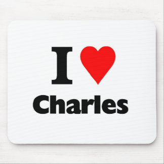 Love charles mouse pad