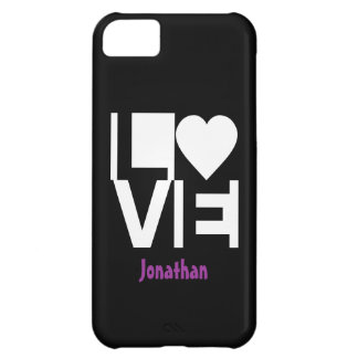 Love Checkers Cover For iPhone 5C