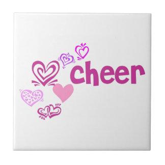 Love Cheer Ceramic Tile