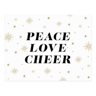 Love & Cheer | Holiday Postcard