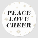Love & Cheer | Holiday Stickers