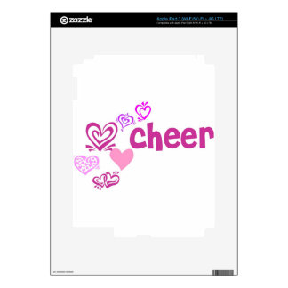 Love Cheer Decal For iPad 3