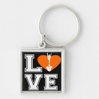 Love Cheerleading Keychain