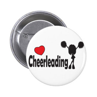 Love Cheerleading Pinback Button