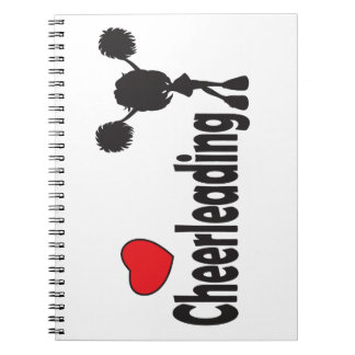 Love Cheerleading Spiral Notebook