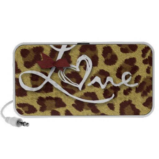 Love Cheetah Prints Collection iPod Speaker