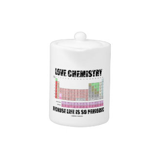 Love Chemistry Because Life Is So Periodic