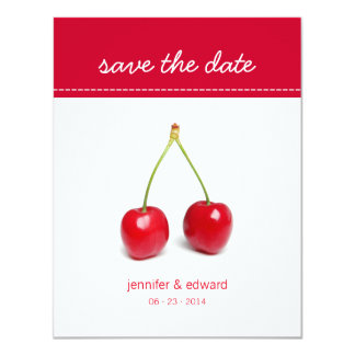 Love Cherries - Save the date announcement
